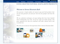 Serene Mountain Bath Website