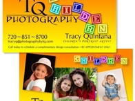 TQ Photography Children Business Card