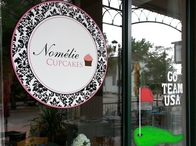 Nomelie Cupcakes Window Painting