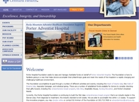 Porter Hospital Foundation Website