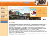 Avista Hospital Foundation Website
