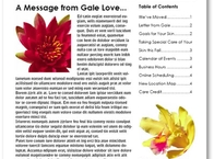 Love Skincare Center Newsletter