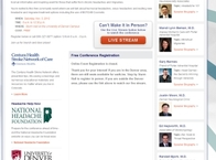 Centura Neurology Event Website