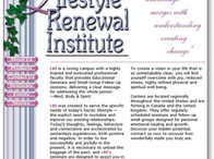 Lifestyle Renewal Institute Website