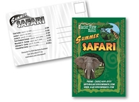 Summer Safari Postcard