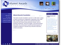 Alumni Awards Website
