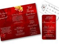 Love Skincare Center Brochure/Business Card