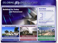 Global Diversified Website
