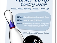 Bowling Social Flyer