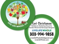 Live Life Whole Business Card